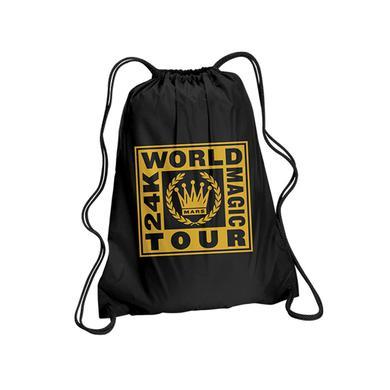 Bruno Mars Crest Drawstring Backpack