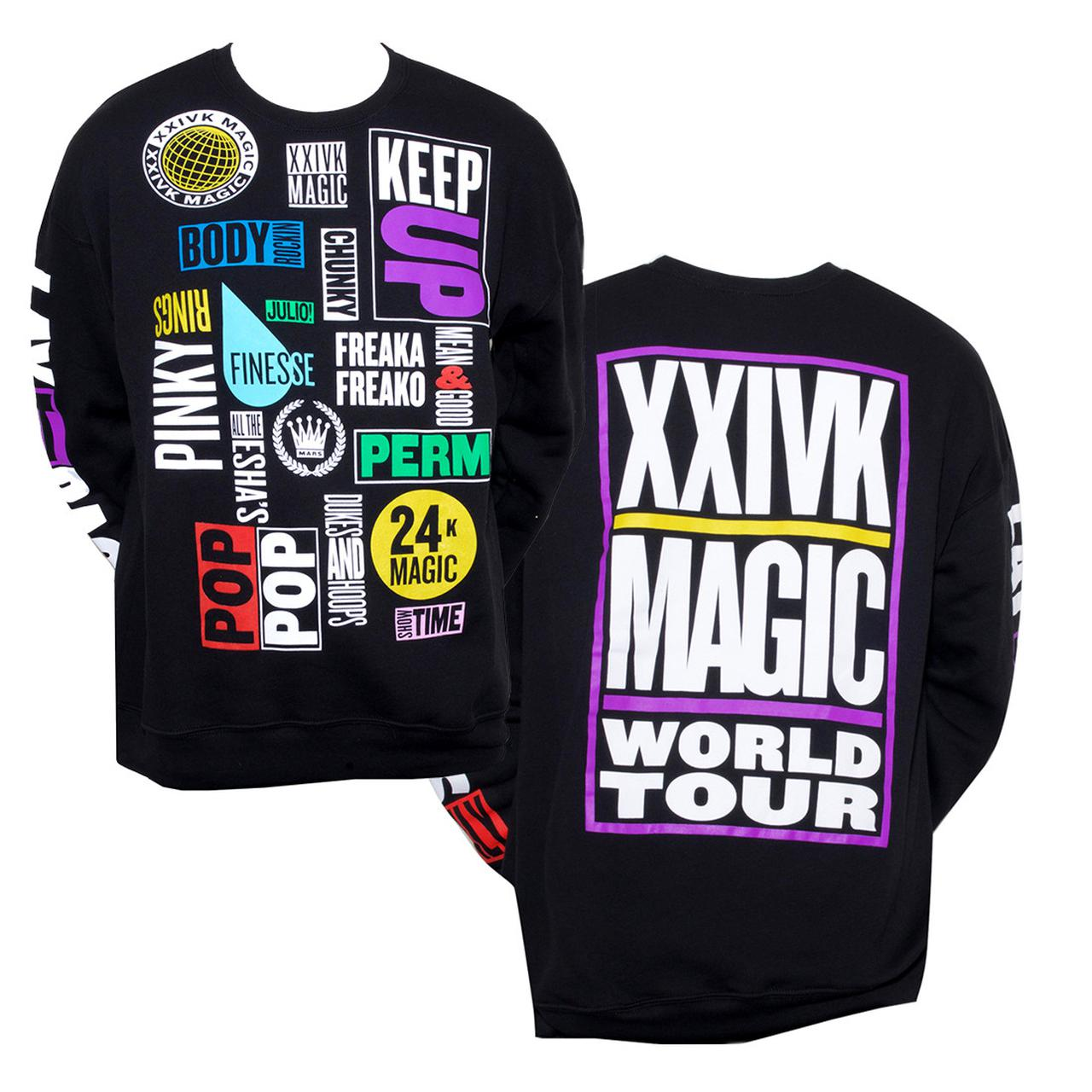 Bruno Mars Tour Merchandise