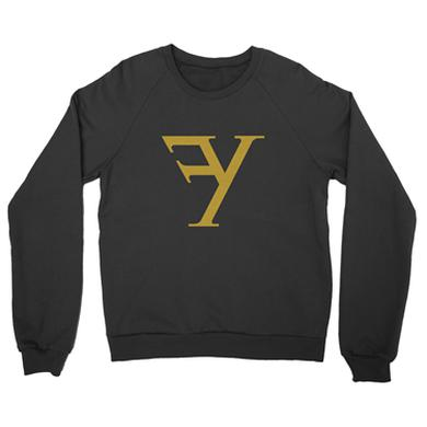 Francesco Yates Logo Black Sweatshirt