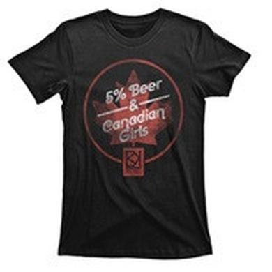 Brett Kissel '5% Beer & Canadian Girls' Unisex T-Shirt