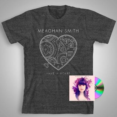 Meaghan Smith Have A Heart (CD) + Heather Charcoal T-shirt