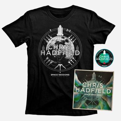 Chris Hadfield Vinyl, T Shirt & Patch Bundle