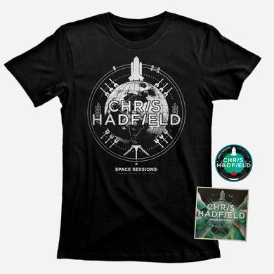 Chris Hadfield CD, T Shirt & Patch Bundle