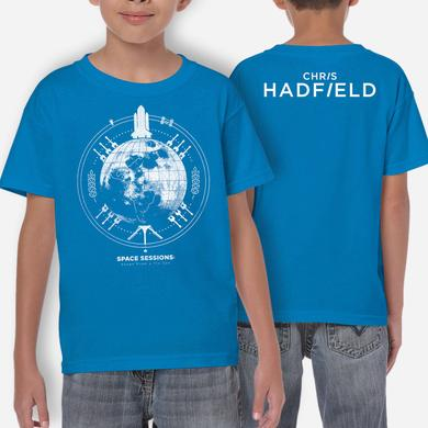 Chris Hadfield SPACE SESSIONS Kids T Shirt