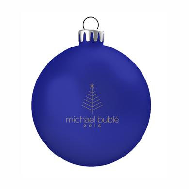 Michael Buble 2016 Blue Holiday Ornament