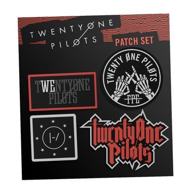 Twenty One Pilots Patch Set