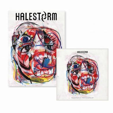 Halestorm ReAniMate 3.0: The CoVeRs eP CD + Poster Bundle (Vinyl)