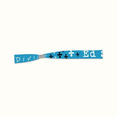 Ed Sheeran Floating Symbols Fabric Wristband