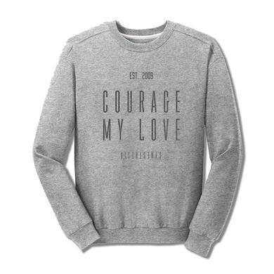 Courage My Love Logo Crewneck Sweater