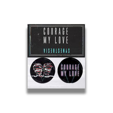 Courage My Love Synesthesia Button Pack