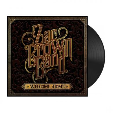 """Zac Brown Band """"Welcome Home"""" Vinyl"""