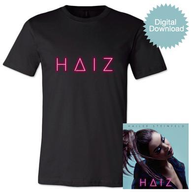 Hailee Steinfeld HAIZ Digital EP + Unisex T-shirt
