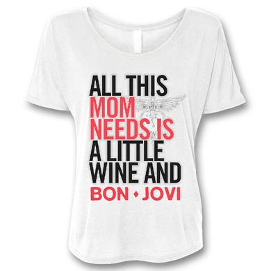 Wine & Bon Jovi T-shirt