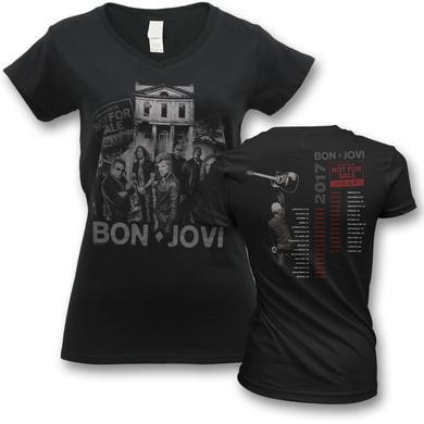Bon Jovi 2017 This House Is Not For Sale Tour T-shirt - Women's