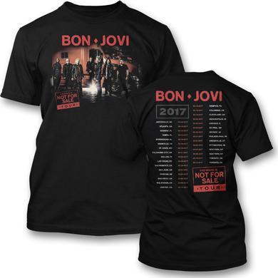 Bon Jovi Group Photo 2017 Tour T-shirt