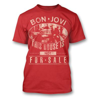 Bon Jovi JBJ Car Photo T-shirt