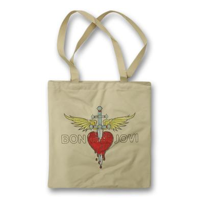 Bon Jovi Through The Heart Tote Bag