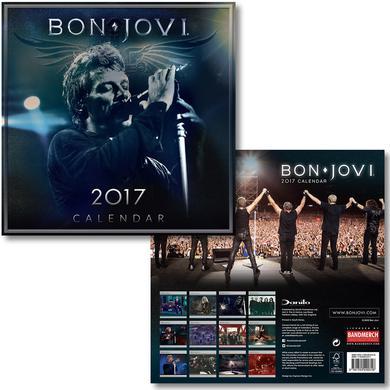 2017 Bon Jovi Calendar