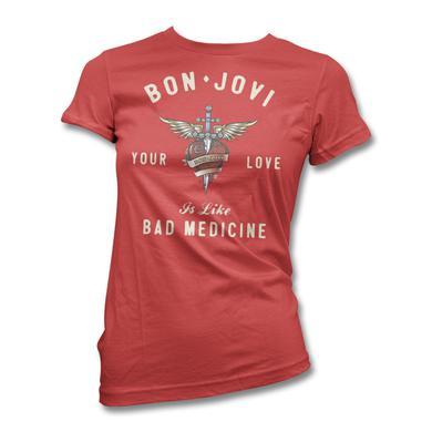 Bon Jovi Your Love T-shirt - Women's