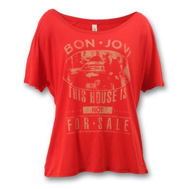 Bon Jovi JBJ Car Slouchy T-shirt - Women's