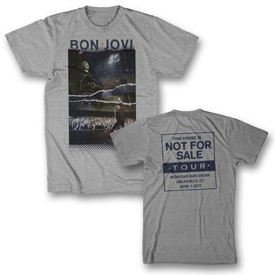 Bon Jovi Torn Photo T-Shirt - Uncasville, CT 4/1/17