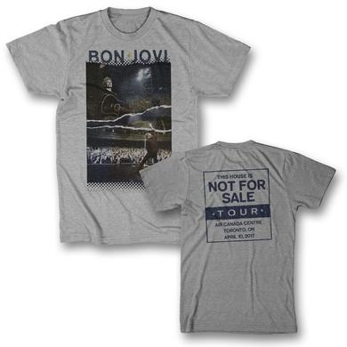 Bon Jovi Torn Photo T-Shirt - Toronto, ON 4/10/17