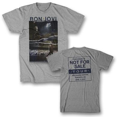Bon Jovi Torn Photo T-Shirt - Toronto, ON 4/11/17