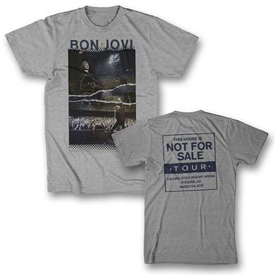 Bon Jovi Torn Photo T-Shirt - Phoenix, AZ 3/4/17