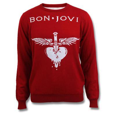 Bon Jovi Jacquard Logo Sweater