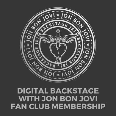 Bon Jovi Digital Backstage with JBJ Membership