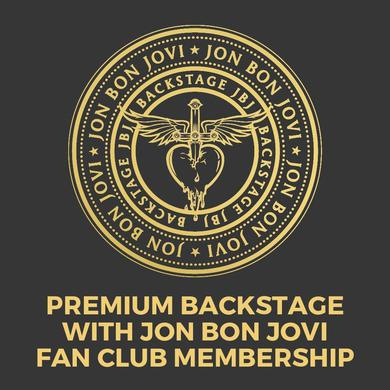 Bon Jovi Premium Backstage with JBJ Membership