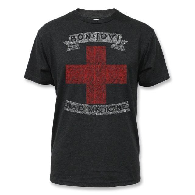 Bon Jovi Bad Medicine T-shirt - Men's