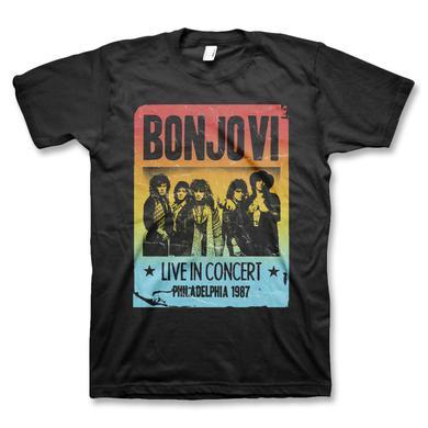 Bon Jovi Gradient Flyer Unisex T-Shirt