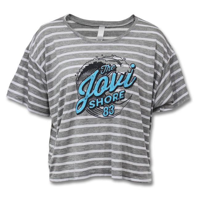 Bon Jovi Jovi Shore Flowy Crop Top - Women's