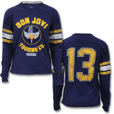 Bon Jovi 2013 Touring Co Longsleeve T-shirt