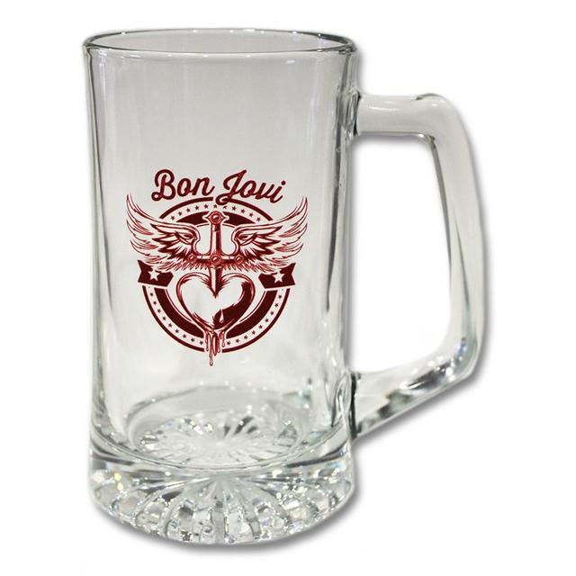 Bon Jovi Red Star Beer Mug
