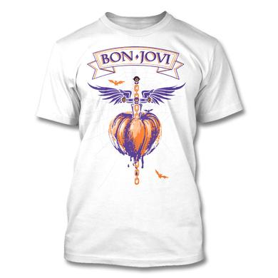Bon Jovi 2016 Halloween T-shirt (White)