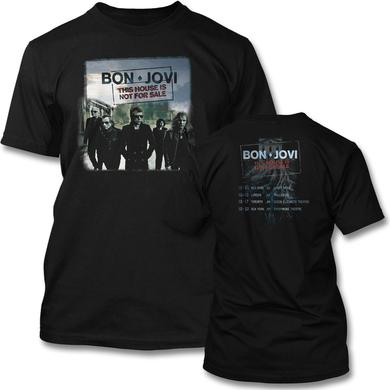 Bon Jovi 2016 Tour T-shirt - Men's