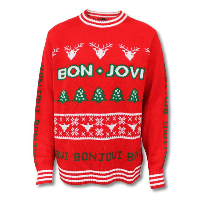 Bon Jovi Knitted Holiday Sweater