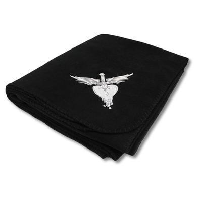 Bon Jovi Embroidered H&D Fleece Blanket