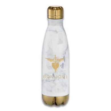 Bon Jovi Stainless Steel Heart Dagger Water Bottle