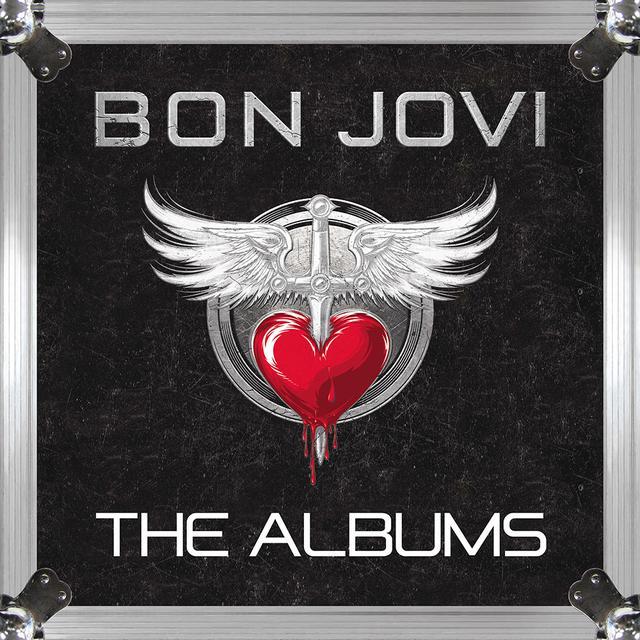 Bon Jovi The Albums Vinyl Box Set