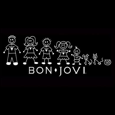 Bon Jovi Stick Family Decal Sticker