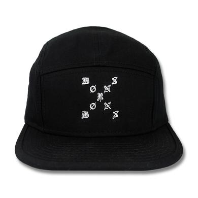 BØRNS X Logo Five Panel Camper Hat