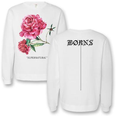 BØRNS Supernatural Rose Crewneck Sweatshirt
