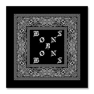 BØRNS X Logo Bandana