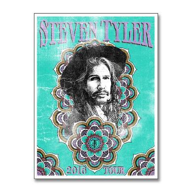 Steven Tyler Mandala 2016 Tour Print