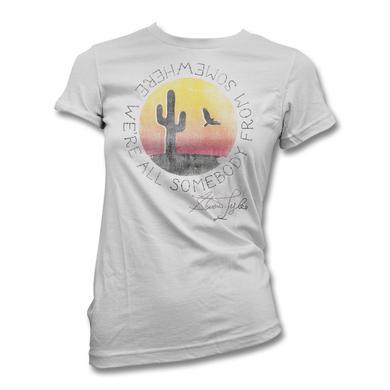 Steven Tyler Cactus Lyrics T-shirt - Women's
