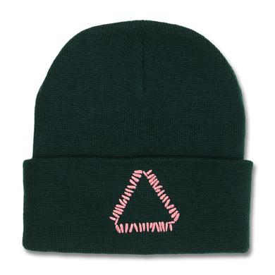 Warpaint Triangle Logo Beanie (Forest Green)