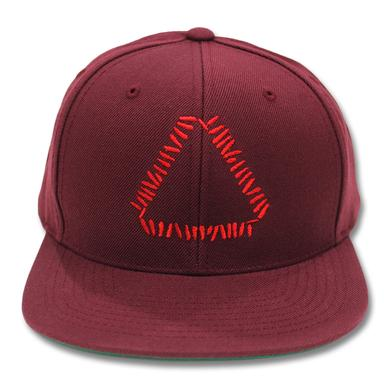 Warpaint Embroidered Triangle Logo Snapback (Maroon)
